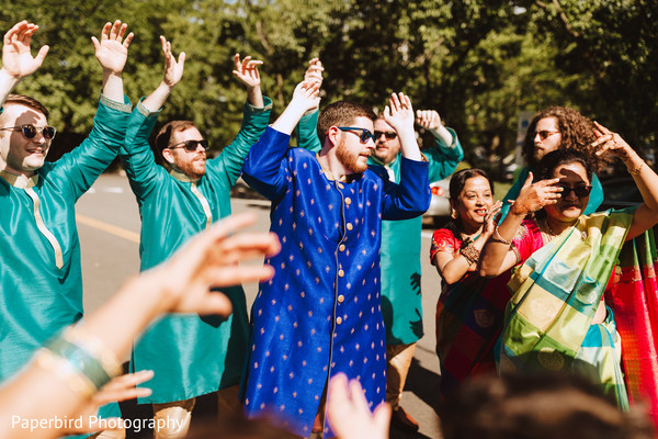 Upbeat indian wedding baraat