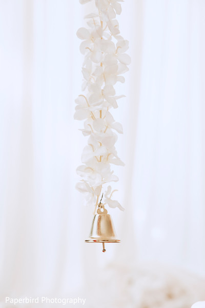Magical indian wedding floral decor.