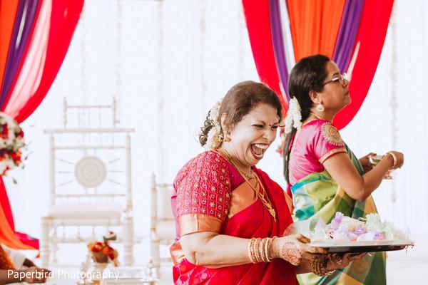 Indian wedding ceremonial ritual items.