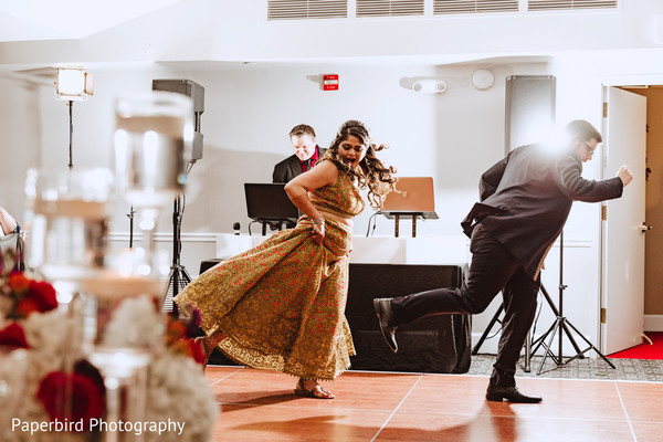 Astonishing indian couples reception dance.
