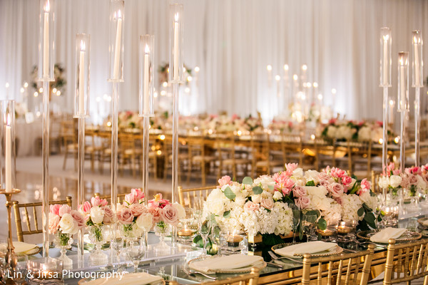 Beautiful table setup decor.