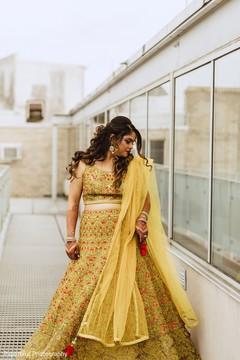 Incredible Indian bridal lehenga.