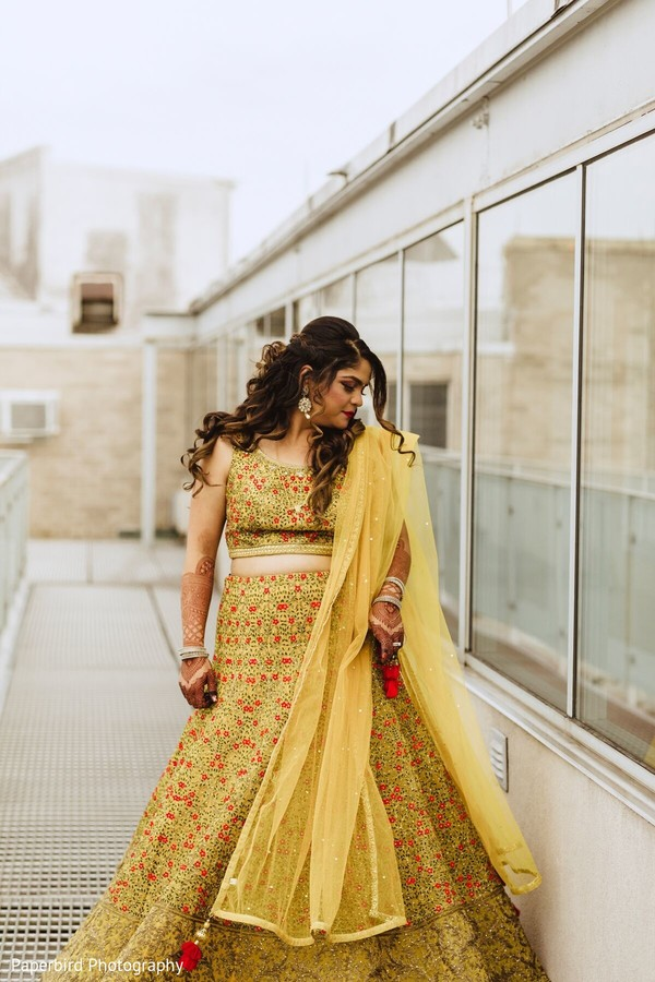 Incredible Indian bridal lehenga.