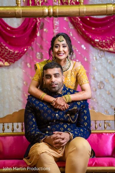 Lovely Indian couple photo shoot.