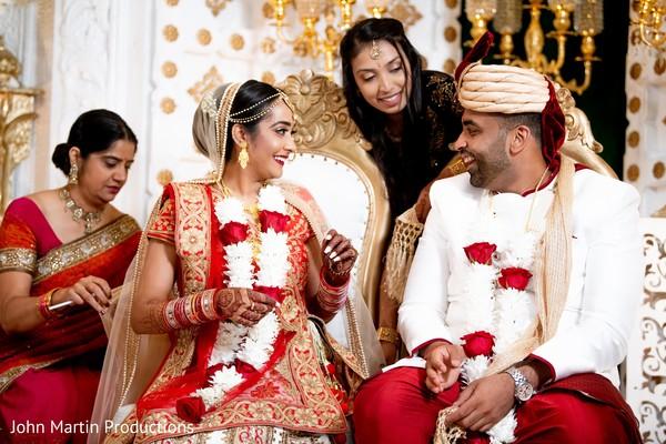 Joyful Indian couple photo shoot.