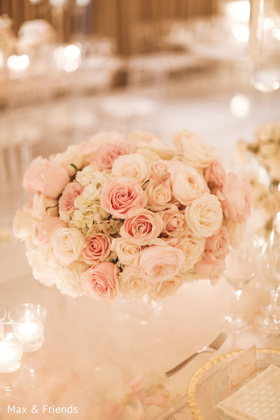Graceful floral centerpiece