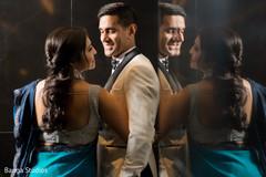 Maharani and Raja looking dazzling.