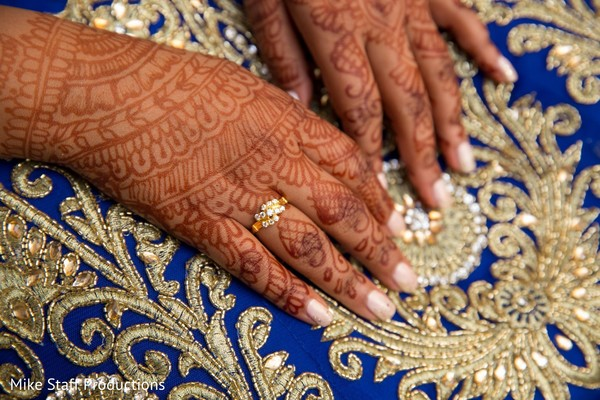 Lovely ring capture on maharanins hand.