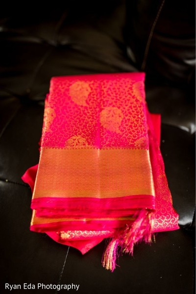 Indian wedding ceremony veil.