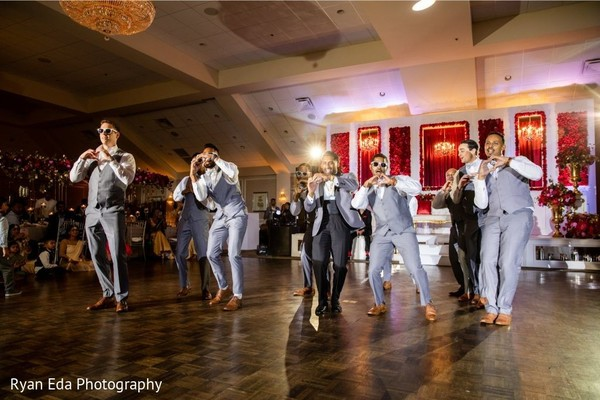 Indian groom and groomsmen dance choreography.