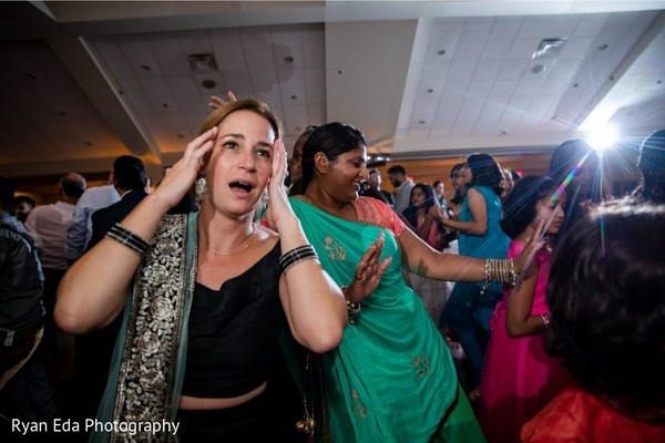 See this upbeat Indian wedding reception.
