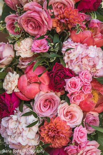 Floral arrangement decor of the spree.