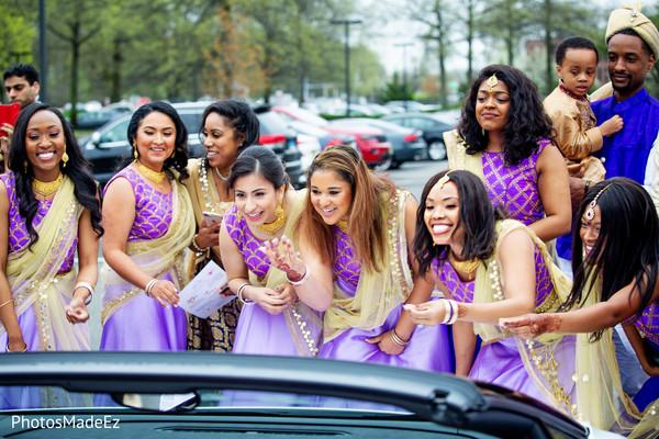 Sensational outdoor bridesmaids photo shoot