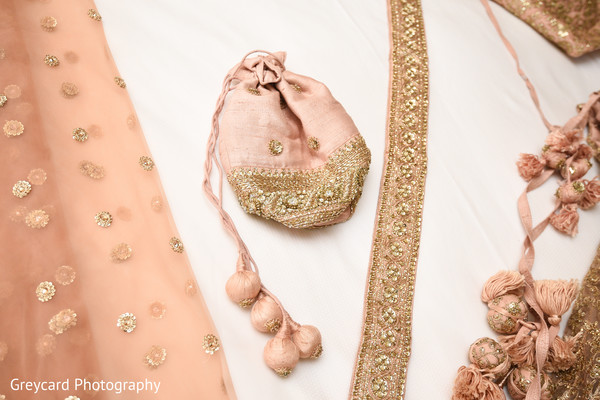 Marvelous Indian bridal Rajasthani Potli Bag.