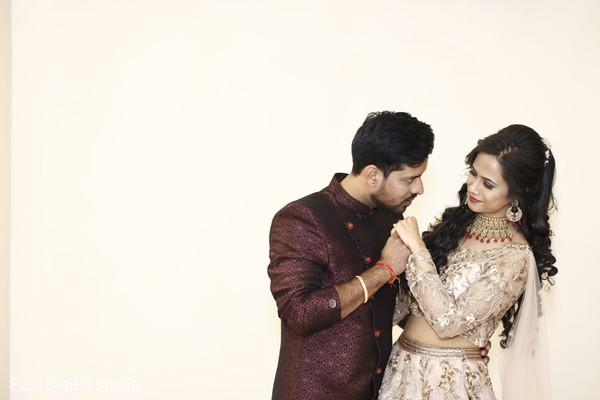 Bride and groom looking stunning.