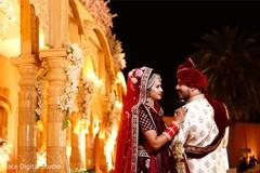 Indian wedding style.