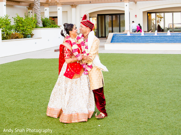 Sensational outdoor themed indian couple's photo shoot.