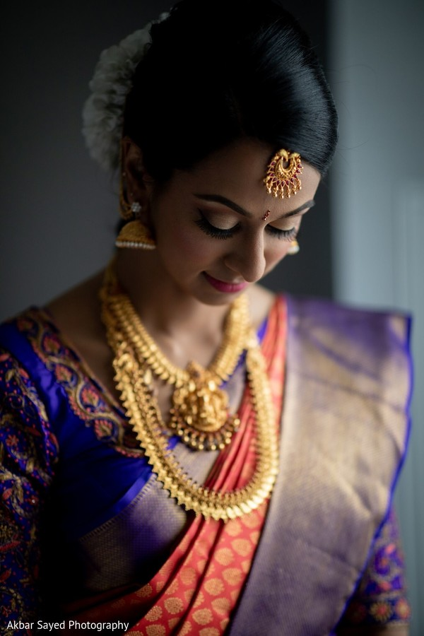 Bride looking gorgeous.