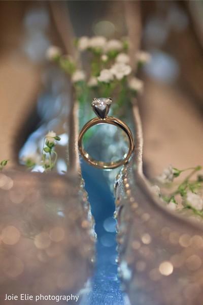 Gorgeous wedding ring.