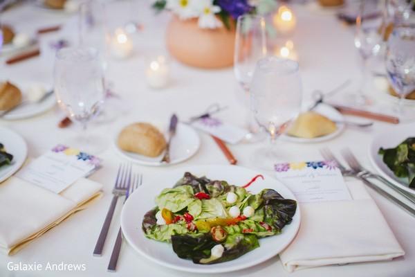 Wonderful Indian wedding salad.