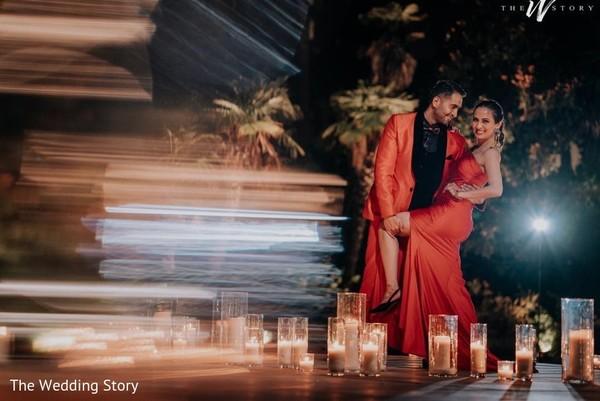 Wonderful India couple dance.