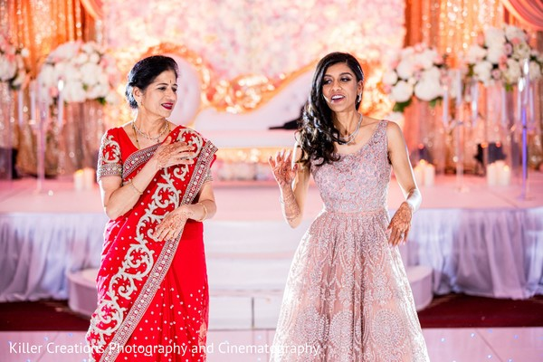 Lovely relative and brides reception dance.
