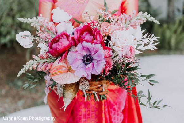 Floral decor details.