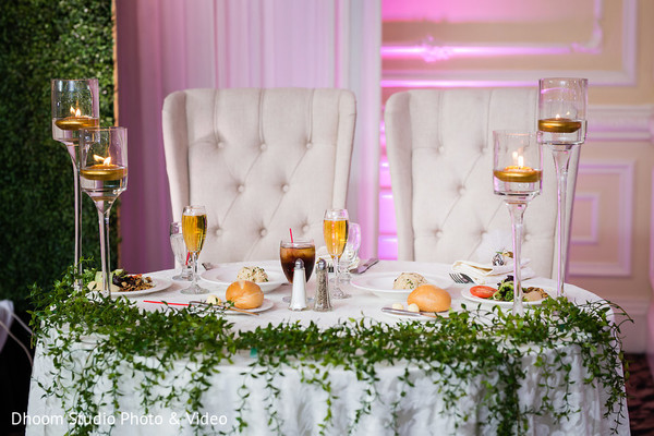 Elegant table set up.
