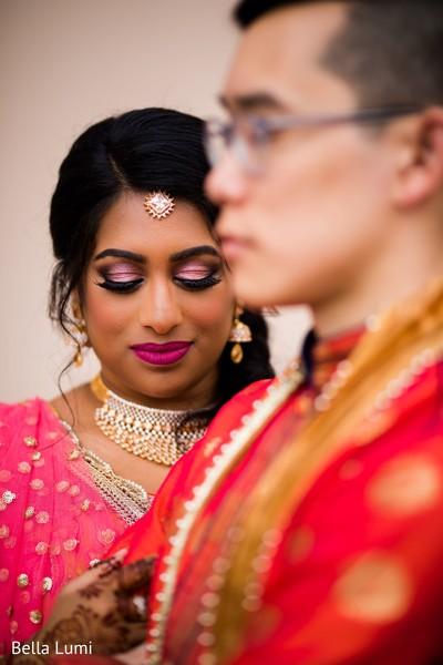 Stunning indian bridal makeup