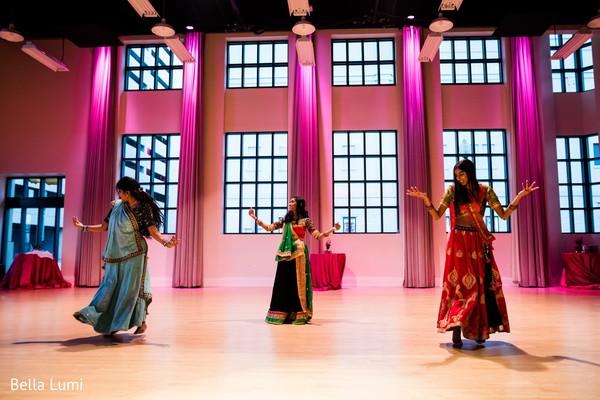 Sangeet night celebration capture