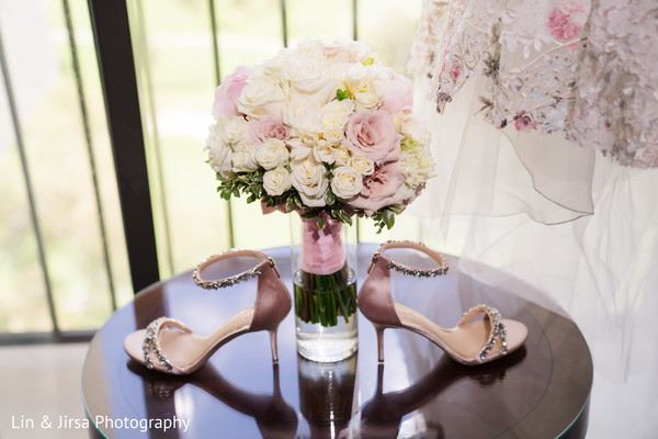 Floral arrangement decor details.