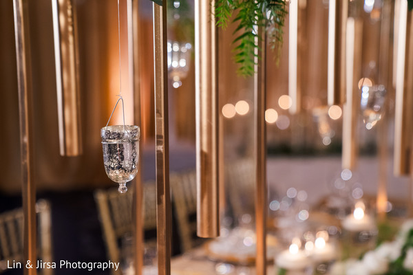 Decor details of the gala.