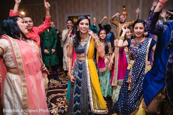 Beautiful Maharani at reception party.