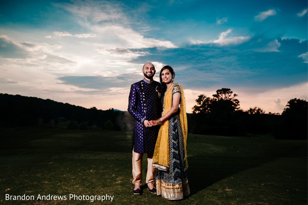 Awesome photo shoot of Indian couple.