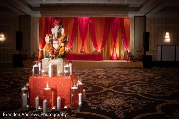Amazing decoration with Indian deity.