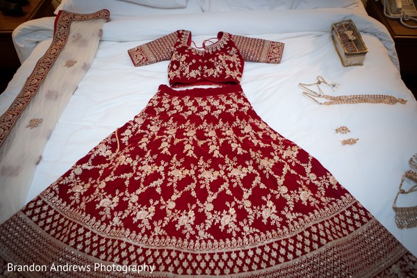 Beautiful lengha worn by our Maharani.