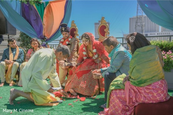 Traditional indian wedding ceremony photography