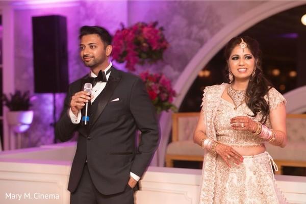 Indian groom's speech moment