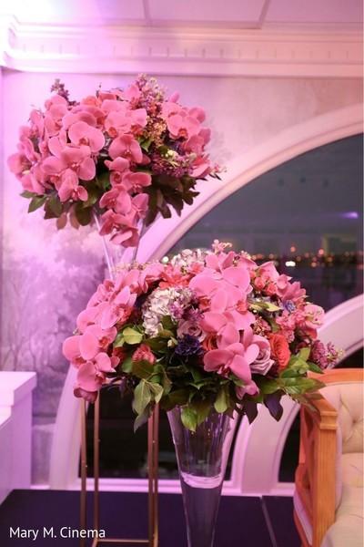 Beautiful floral centerpiece decoration