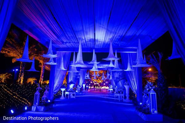 Incredible Indian wedding lights decoration.