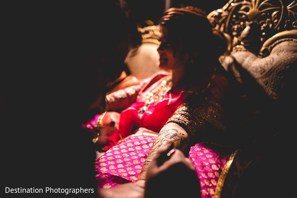 Indian bride looking spectacular.