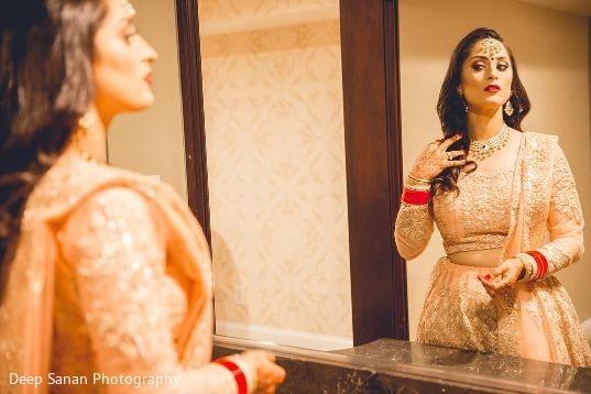 Indian bride looking amazing.