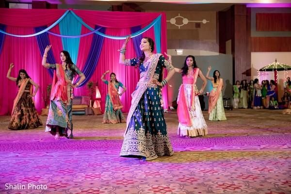 Fabulous Indian bridal sangeet dance choreography.