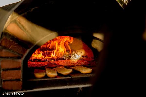 Incredible capture of Indian wedding bread oven.