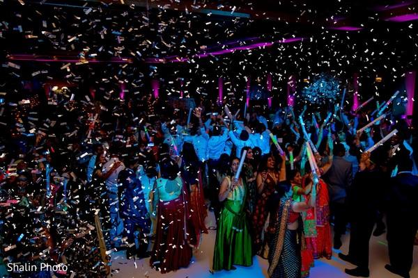 Upbeat Indian Wedding dance capture.