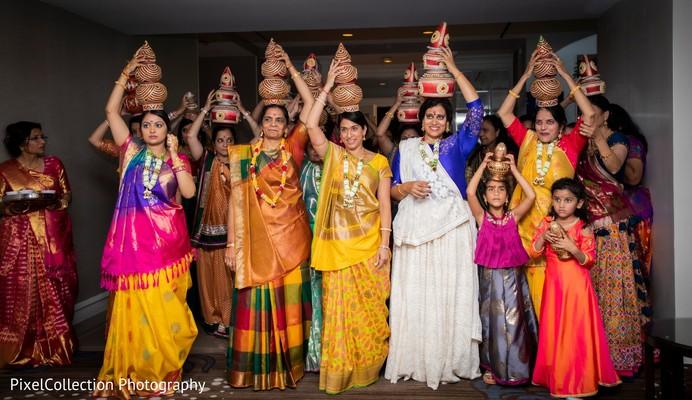 Traditional Indian wedding ritual