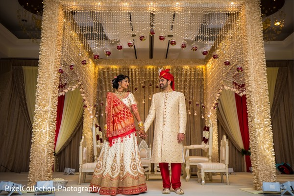 Spectacular indian wedding ceremony decor