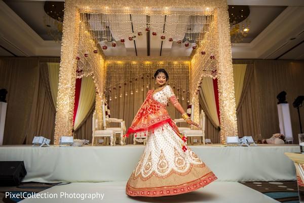 Fabulous indian bride's portrait