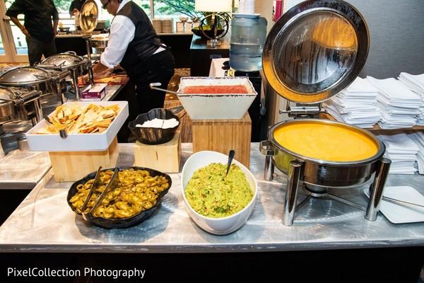 Indian wedding food capture