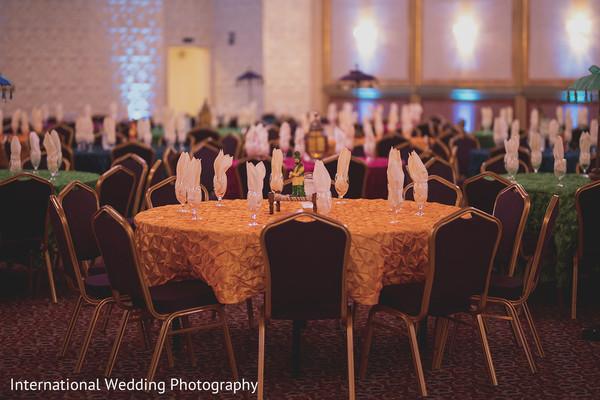 Elegant table arrangement.